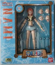 ONE PIECE figure Nami Bandai SHF Simple style & Heroic action figuarts 2010 - $93.49