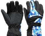 Motorcycle Winter Waterproof Ski Snowboard Snow Thermal Warm Gloves