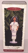 Vtg Native American BARBIE Dolls of the World Hallmark Ornament Figurine... - $9.89