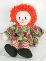 "Raggedy Ann Doll 26"" Vintage AS IS - $29.69"