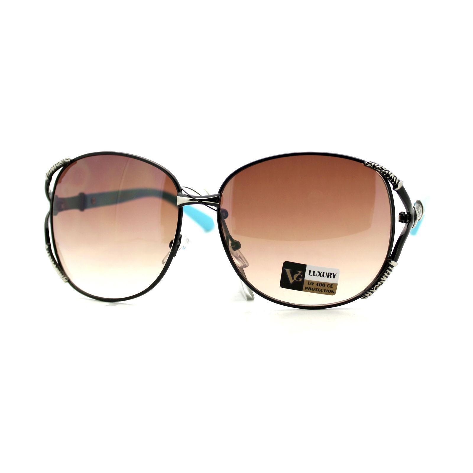 Womens Fashion Round Sunglasses Designer Luxury Classic Shades UV 400