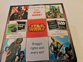 Star Wars-Trivia Box-Disney-100's of Questions Game- by Cardinal - $14.84