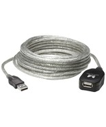 Manhattan 519779 USB 2.0 Active Extension Cable, 16ft - $34.34
