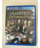 Injustice: Gods Among Us Ultimate Edition PSV PlayStation PS Vita excell... - $49.99
