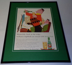 1959 Seven 7 Up Highball 11x14 Framed ORIGINAL Vintage Advertisement - $46.39