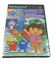 Dora the Explorer Journey to the Purple Planet PlayStation 2 PS2 New Sealed - $19.31