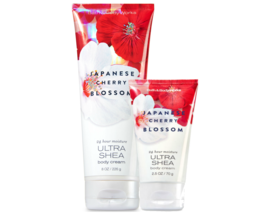 BATH & BODY WORKS Japanese Cherry Blossom Body Creams Duo Set - $18.03