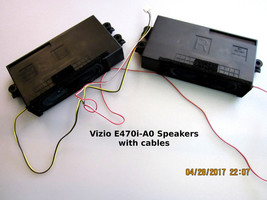 VIZIO E470i-A0 Speakers PN: 0335-1006-9560  with cable - $16.95