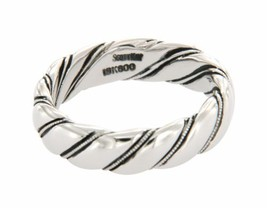 ▌Authentic Scott Kay 19K white gold Men's Wedding Band Ring Size 10.5 »U55 - $874.68
