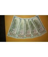 $500.00 Set Earliest Edition Banknotes. (5) USD100.0 Bills/set Perfect G... - $40.00