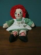 Handmade Raggedy Ann Doll, Good Used Condition - $8.99