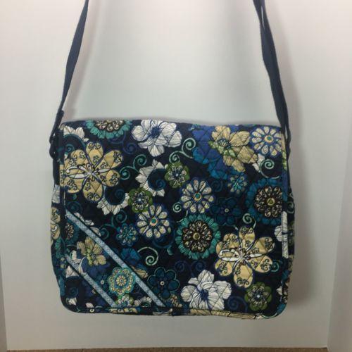 5a5fea6e1c Vera Bradley Mod Floral Blue Bag
