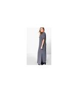 Boohoo Plus Elisa T-shirt Maxi Dress Charcoal Size US 12 NWT - $14.85