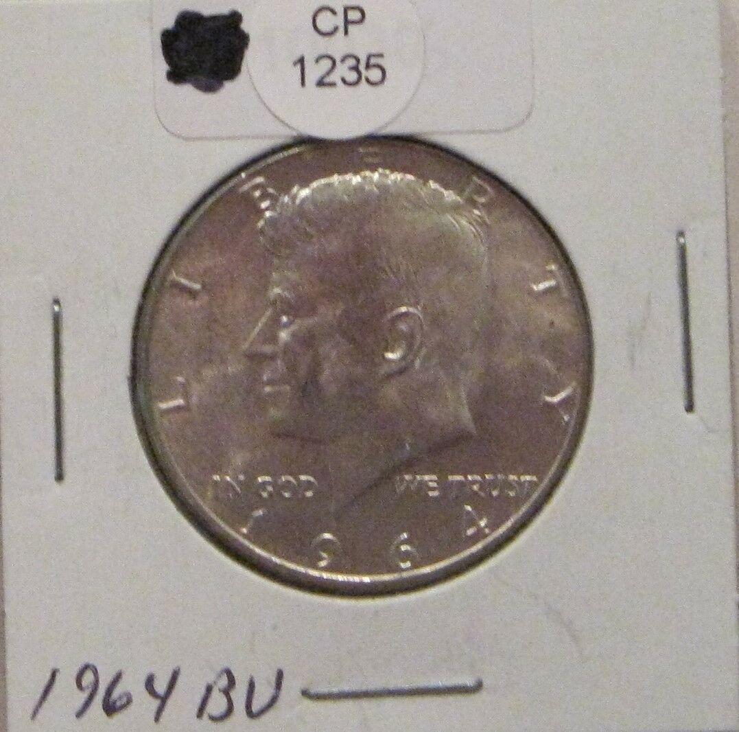 1964 BU Silver Kennedy Half Dollar CP1235
