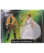 1997 Kenner Star Wars  PRINCESS LEIA COLLECTION & LUKE SKYWALKER action figures - $17.75