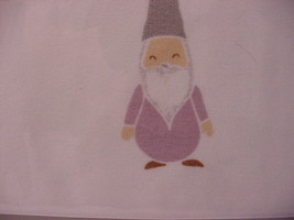 Cynthia Rowley Lavender Gnomes with White Beards Microfiber Sheet Set Queen - $58.00