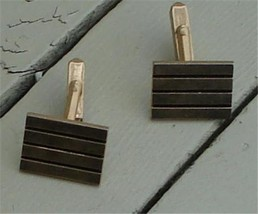 Nice Swank Gold Tone Cuff Links, VERY GOOD CONDITION, GREAT LOOK - $8.90