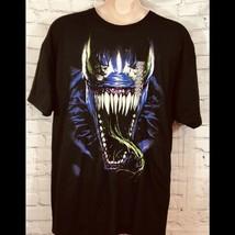 NWT Venom Marvel T Shirt Black Size XXL - £17.91 GBP