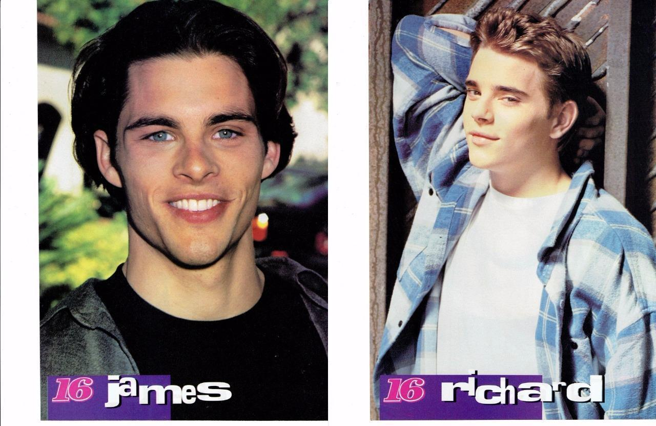 James Marsden Richard Jackson teen magazine pinup clipping Bop Saved by the bell