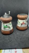 Vintage Regal Salt And Pepper Grinder Set - £16.69 GBP