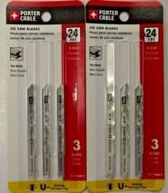 Porter Cable PC1226M-3 24TPI Metal Cutting Bi-Metal Jigsaw Blade 2 - 3 P... - $5.69