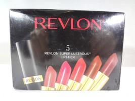 Revlon - 5 Super Lustrous Lipsticks  Silky Smooth Moisturizing Color [HB-R] - $21.27