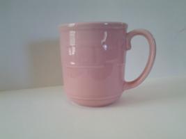 Longaberger Woven Traditions Pink Pottery Mug 12 ounces MPN #710003, VG - $8.99