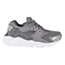 Nike Huarache Run Big Kids' Shoes Gunsmoke-Gunsmoke 654280-013 - $88.95
