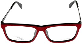 New Diesel Eyeglasses Frame Men Red Black Rectangular DL5153 005 - $88.11