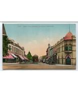 Santa Cruz Avenue Los Gatos California 1910c postcard - $6.93