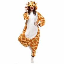 Adults' Kigurumi Pajamas Giraffe Animal Onesie Pajamas Polar Fleece Maro... - $14.00