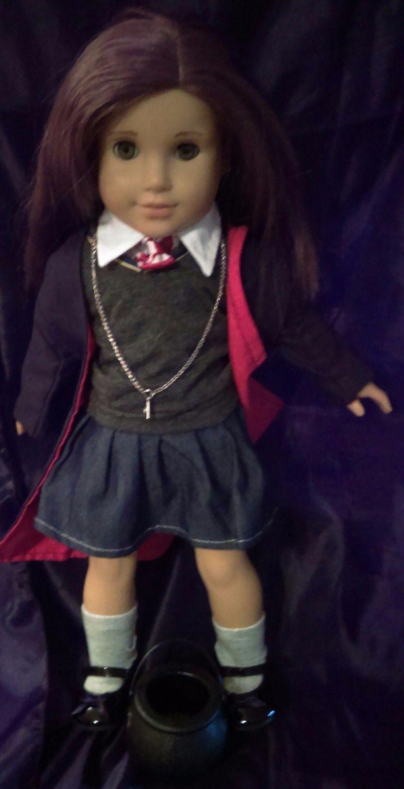 "Harry Potter Inspired School Uniform 10 + Peice Set for 18"" (45cm) Dolls"