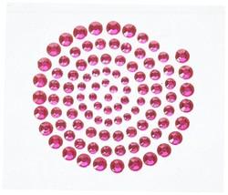 BNIP Kaisercraft 'RHINESTONES' Self Adhesive - HOT PINK BLNG SCRAPBOOKING - $1.67