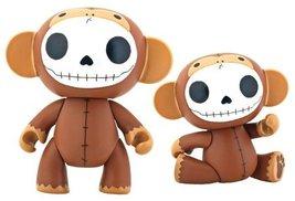 Furrybones Choco Monkey Munky Collectible Vinyl Figurine - $14.98