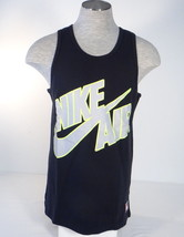 Nike Air Black Long Pivot Heavy Weight Basketball Tank Mens NWT - $41.24