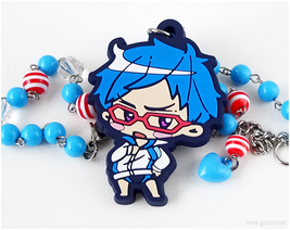 FREE Rei Beaded Necklace, Anime Jewelry, Handcrafted, Nautical - $27.00