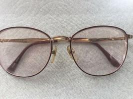 Laura Ashley Isabelle Burgundy/Gold 54/17 - 135 Eyeglass Frames - $23.36
