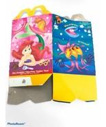 "1996 Disney's The Little Mermaid McDonalds Happy Meal BOX ""PINK""  NOS - $7.59"