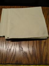 """4 Ecru Color Napkins 100% Cotton Size 19"""" x 19"""". - $7.99"""