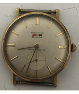 Vintage Benrus 21 Jewels 14k Gold Watch Sold As Not working - $467.49