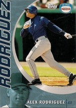 2001 Topps Nestle Baseball Superstars - #4 - Alex Rodriguez - Seattle Mariners - $2.00