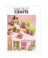 McCall's Patterns M6374 Ironing Board Cover, Organizers, Zip Case in 2 S... - $8.86