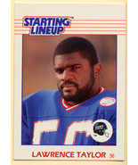1988 Lawrence Taylor Starting Linup CARD NRMT/MT Giants - $9.89