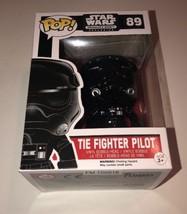 Tie Fighter Pilot Vinyl Bobble Figure Pop! Star Wars Smugglers Bounty Ex... - $49.95