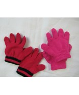 Children magic Glove Baby Girl Boy Kid Stretchy Knitted Winter Lot of 3 ... - $4.23