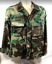 SUPER COOL! Original Military Uniform Jacket Army Camo USA Sz Medium Regular - $39.98