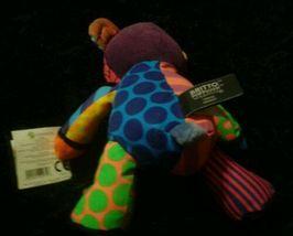 Romero Britto Pop Plush Tallulah The Teddy Bear Enesco Mini NWT image 3