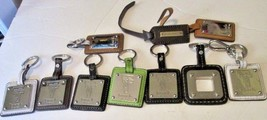 Big lot of 8 TIGNANELLO keyring key chain keychains & 2 tags - $79.99