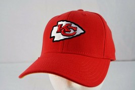 Kansas City Chiefs Red Baseball Cap Stretch Fit S/M - $23.99