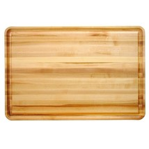 Professional Style Reversible Cutting Board Groove Kitchen Chopping Slic... - £92.67 GBP